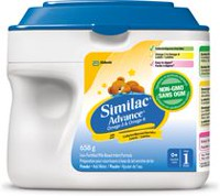 Similac Advance Non-GMO Step 1 Omega-3 and Omega-6 Milk-Based Infant Formula Powder
