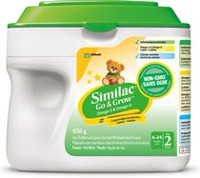Similac Go & Grow Non-GMO Step 2 Omega-3 and Omega-6 Milk-Based Infant Formula Powder
