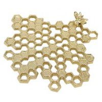 hometrends Honey Bee Trivet