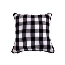 "Filled Cotton Cushion (18"" X 18"") (White Buffalo)-Set of 2"