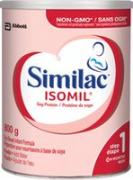Similac Isomil Step 1, Powder, 800 g cans