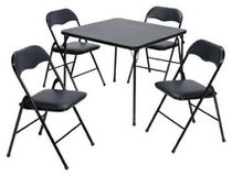 5PCS TABLE AND CHAIR SET