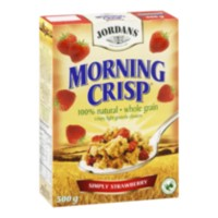 Jordan's Morning Crisp Simply Strawberry