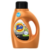 Tide HE Turbo Clean Plus Febreze Sport Active Fresh Scent Liquid Laundry Detergent