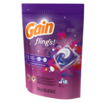 Flings Moonlight Breeze Laundry Detergent Pacs