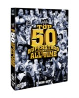 WWE 2010 - Top 50 Superstars of All Time (3 Discs) (Anglais)