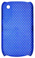 Exian Case for Blackberry Curve 8520 - Net Pattern Blue