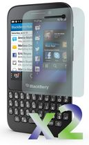 Exian Anti Glare Screen Protector for Blackberry Q5  - 2 Pieces