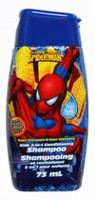 Marvel Shampoing plus revitalisant 2-en-1 Spider-Man pour enfants - parfum d'orange et de mangue