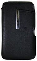 Exian Universal Pouch - Black with Magnetic Fastener