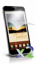 Exian Anti Glare Screen Protector for Samsung Galaxy Note - 2 Pieces