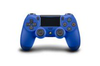 Manette sans fil DualShockMD4 en vague bleue pour PS4