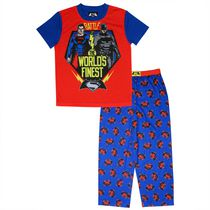 Dawn of Justice Boys' Short Sleeve Pyjama 2-piece Set 6X