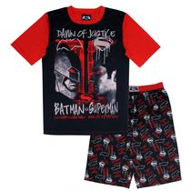 Dawn of Justice Boys' Short Sleeve Pyjama 2-piece Set XL-16
