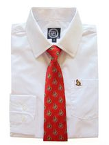 NHL Ottawa Boy's Long Sleeve Dress Shirt and Tie 8