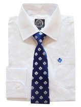 NHL Toronto Boy's Long Sleeve Dress Shirt and Tie 8