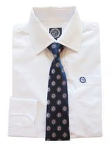 NHL Winnipeg Boy's Long Sleeve Dress Shirt and Tie 6