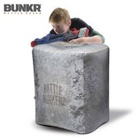 Battle Bunkerz Inflatable Concrete Block