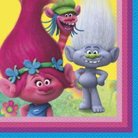 DreamWorks Trolls Lunch Napkins