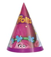 DreamWorks Trolls Paper Party Hats
