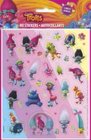 DreamWorks Trolls Sticker Sheets