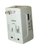 Exian Universal Power Adapter - White