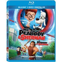 Mr. Peabody & Sherman (Blu-ray + DVD + Digital HD) (Bilingual)