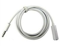 Exian Extension Auxiliary Cable - White