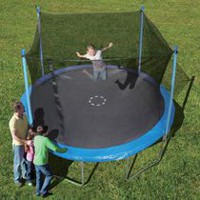 Trainor Sports 12' Trampoline and Enclosure Combo