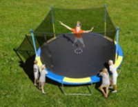 Trainor Sports 14' Trampoline and Enclosure Combo