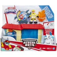 Figurine Garage de Griffin Rock Heroes Transformers Rescue Bots de Playskool