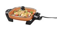 Eco Copper Electric Skillet