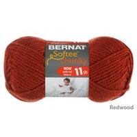 Bernat Softee Chunky Yarn Redwood