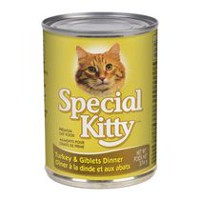 Special Kitty Premium Cat Food - Turkey and Giblets Dinner, 374g