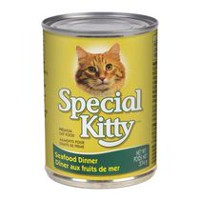 Special Kitty Aliments pour chats de prime Dîner au fruits de mer, 374 g