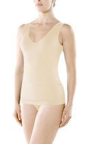 Seamless V Neck Shaping Camisole Nude L