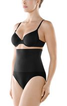 Seamless High Waist Brief Black Medium