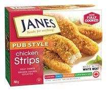 Janes Pub Style Breaded Chicken Cutlette Strips