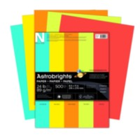 Astrobrights Assorted Paper