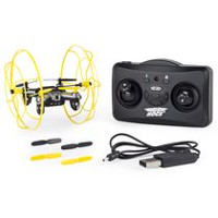 Air Hogs Hyper Stunt Drone Unstoppable Micro Remote Controlled Yellow Drone