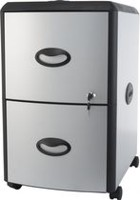 Storex Metal/Plastic Filing Cabinet with Hard Top