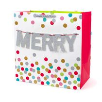 Hallmark Signature Merry Garland Grand Gift Bag