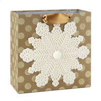 Hallmark Signature Snowflake Large Gift Bag