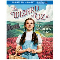 Film The Wizard Of Oz : édition 75ième anniversaire (Blu-ray 3D + Blu-ray) (Bilingue)