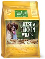 VitaLife Cheese & Chicken Wraps All Natural Dog Treats
