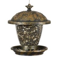 Mangeoire d'oiseaux sauvages Holly Berry de Perky-Pet Gilded Chalet