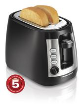 Hamilton Beach 2 Slice Toaster with Warm Mode 22810C