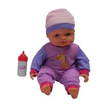 14 inches Baby with Sound (Purple)