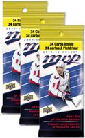 2017-2018 Upper Deck MVP Hockey 3 Jumbo Pack Bundle - English