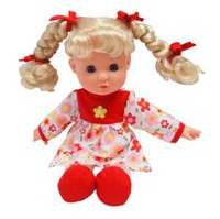 Kid Connection Soft Baby Girl Doll (Red)